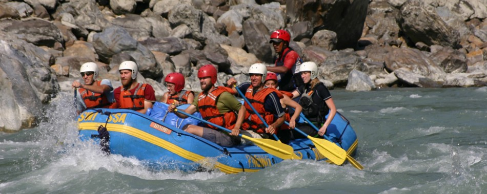 Kaligandai Rafting